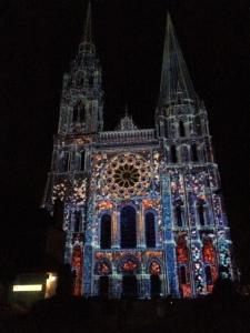 La cathédrale. Magique, non ?